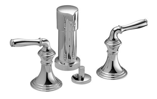 Devonshire Vertical Spray Bidet Faucet In Polished Chrome