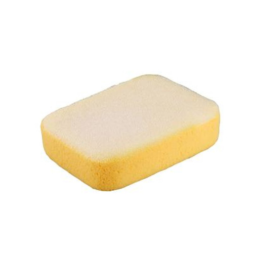 7-1/2 x 5-1/4 x 2 Inch Extra Large Scrubbing Sponge with Scrub Pad on One Side; 1 Pack Bag