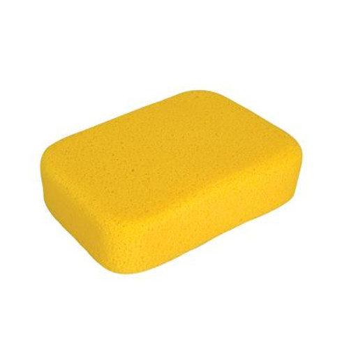 7-1/2 x 5-1/2 x 2 Inch Extra Large Sponge for Tile Grouting and Household Cleaning; 1 Pack Bag