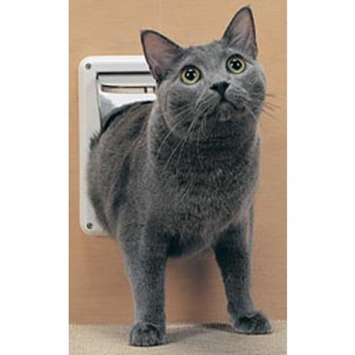 Deluxe Lockable Cat Flap; Designed For Interior Use.