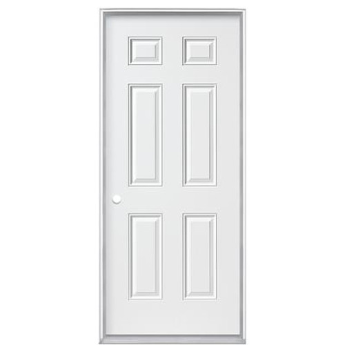 32 In. x 4-9/16 In. 6 Panel Primary Right Hand Door