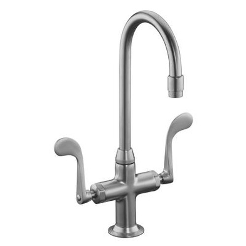 Essex Entertainment Sink Faucet In Brushed Chrome
