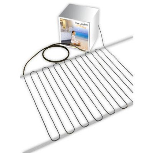 True Comfort 120-V Floor Heating Cable - Covers from 60 up to 77 sf depending on chosen spacing
