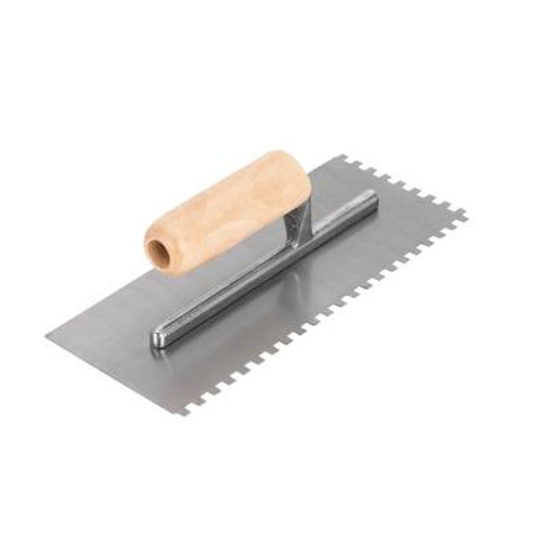 1/4 In. Square Notch Floor Trowel; ProSeries