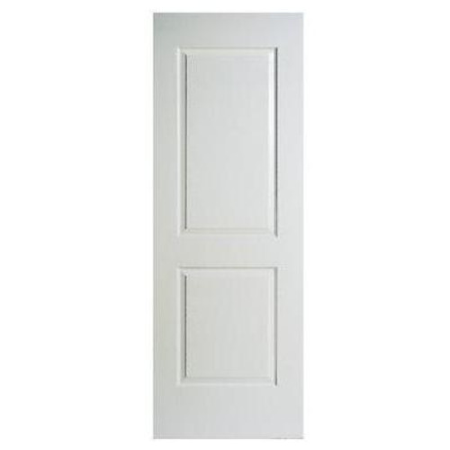 2 Panel Smooth Door Slab 32in x 80in