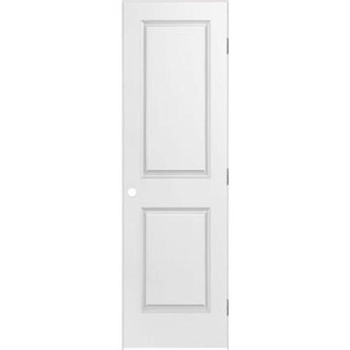 2 Panel Smooth Pre-Hung Door 24in x 80in - RH
