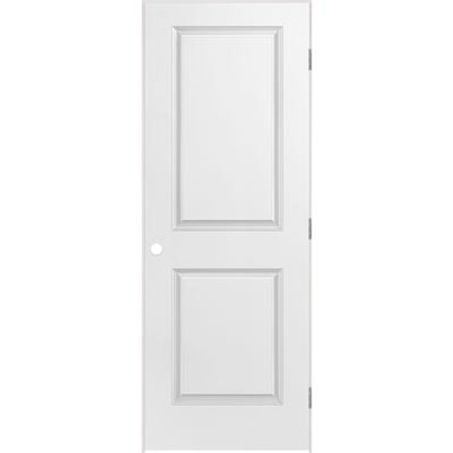2 Panel Smooth Pre-Hung Door 28in x 80in - LH
