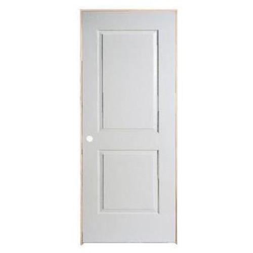 2 Panel Smooth Pre-Hung Door 28in x 80in - RH