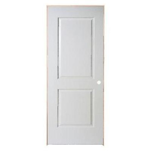 2 Panel Smooth Pre-Hung Door 30in x 80in - LH