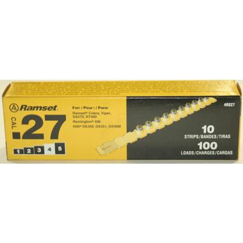 27 Cal. Strip Shot Yellow Load; 100 Pack