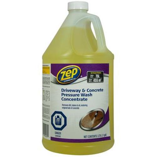 Zep Driveway & Concrete Cleaner Pressure Wash 3.78L