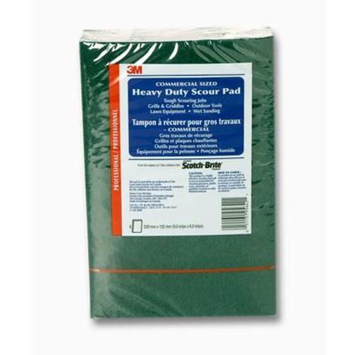 3M COMMERCIAL SIZED Heavy Duty Scour Pad
