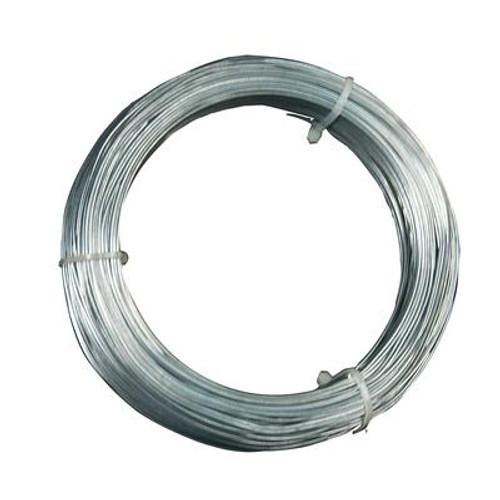 12 Gauge Hanger Wire; for Suspending Drop Ceiling Tees from Lag Screws - 100 Feet