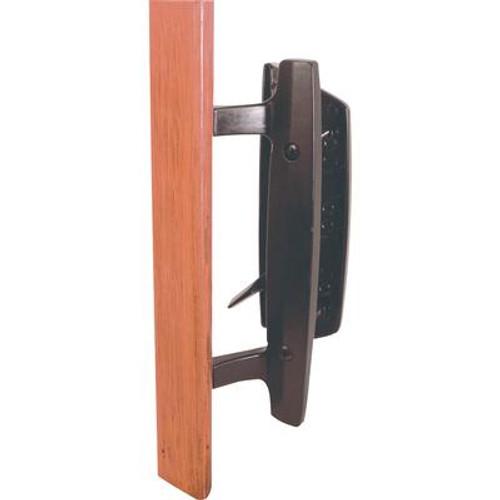 Black Patio Door Handle Set