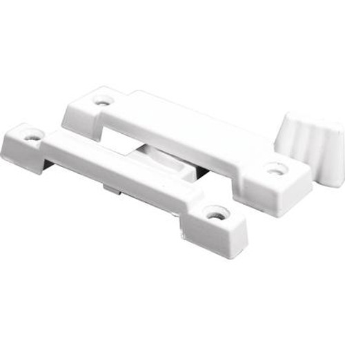 White Cam Action Window Sash Lock