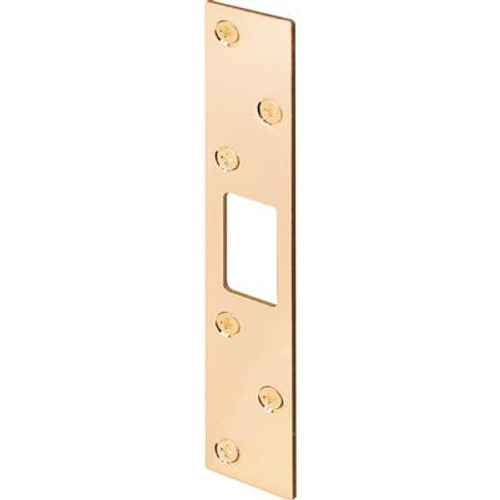 1-1/8 in. x 6 in. Brass Security Strike