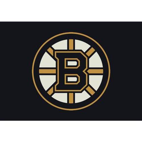 Boston Bruins Spirit Rug 3 Ft. 10 In. x 5 Ft. 4 In. Area Rug