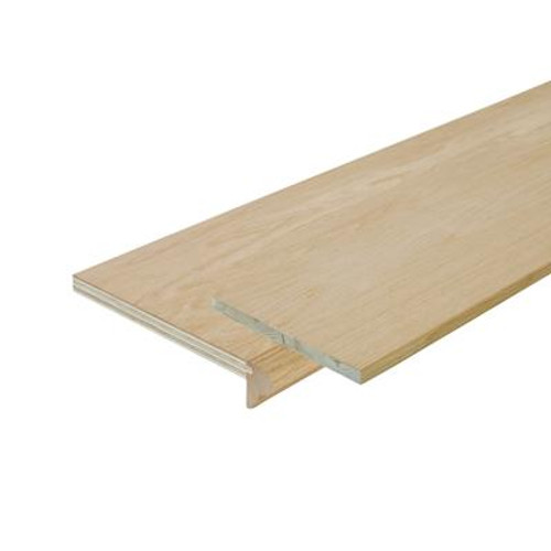 Oak Stair Tread Cap And Riser Kit 10-1/8 In. x 42 In.
