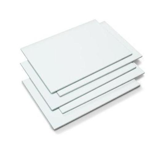 White Ceramic; Single Tile - 12 Inches x 18 Inches - (15 Sq. Ft./Case)