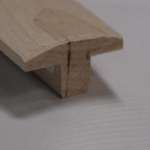 Red Oak T-Moulding Floor Moudling; Natural - 1-1/2 Inch