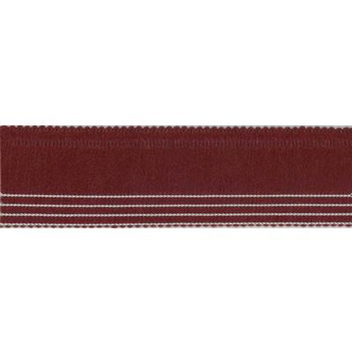 1 1/4 Inch x 30 Inch  2 Piece Multy Edge Crimson 6-Pack