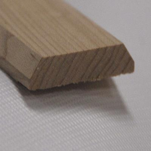 Red Oak Seambinder Floor Moulding; Natural - 1-3/4 Inch