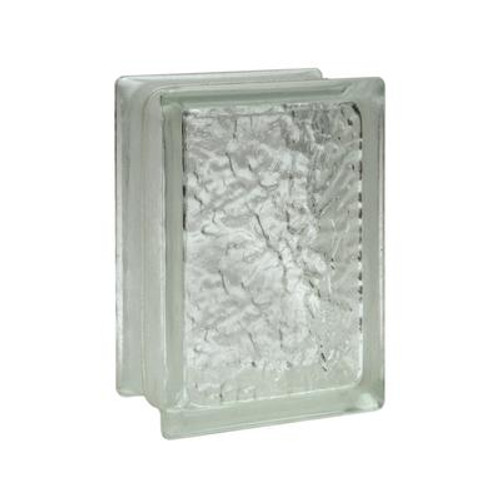 6 Inch X 8 Inch X 4 Inch ICE SCAPES Pattern; case of 9