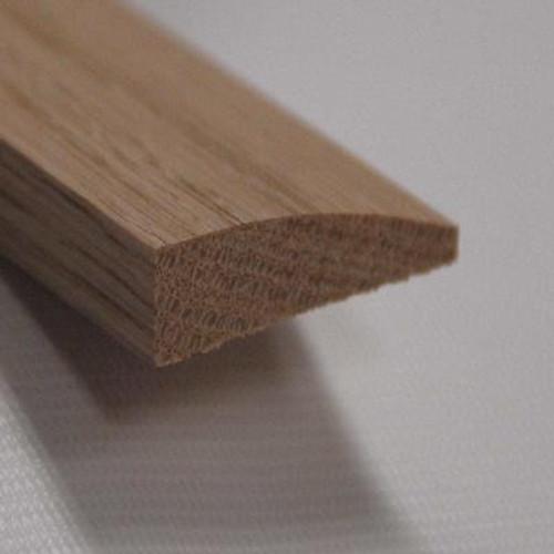 Red Oak Reducer Floor Moulding; Natural - 7/16 Inch