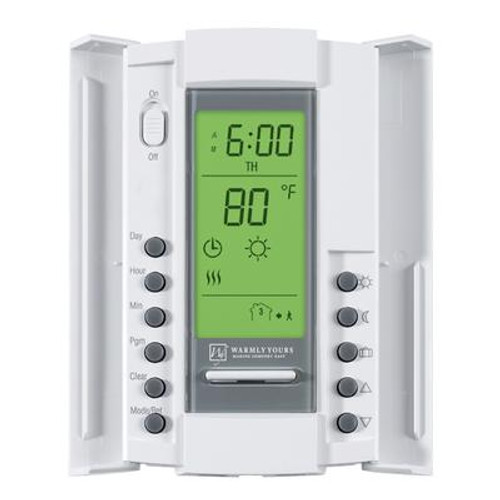 WarmlyYours Master Programmable Floor Heating Thermostat