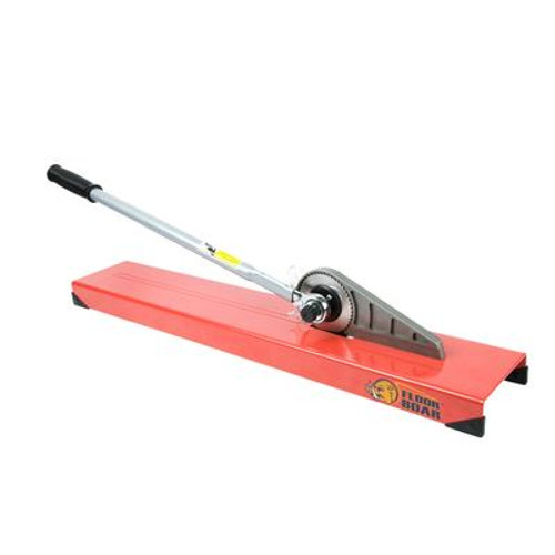 Floor Boar Laminate Cutter with Manual; Dust-free Operation for Laminate Wood up to 1/2 Inch Thick