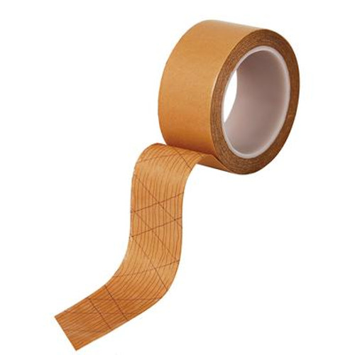 1-7/8 Inch Wide Double-Sided Acrylic Adhesive Strip and Tape for Vinyl Sheet Flooring; 50 feet Roll