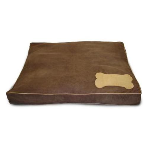 Ultima Suede Chocolate with Deer Pet Bed