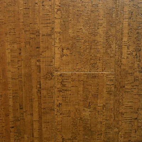 Burnished Straw Plank Cork 13/32 Inch Thick x 5-1/2 Inch Width x 36 Inch Length Flooring (10.92 Sq.Ft./Case)