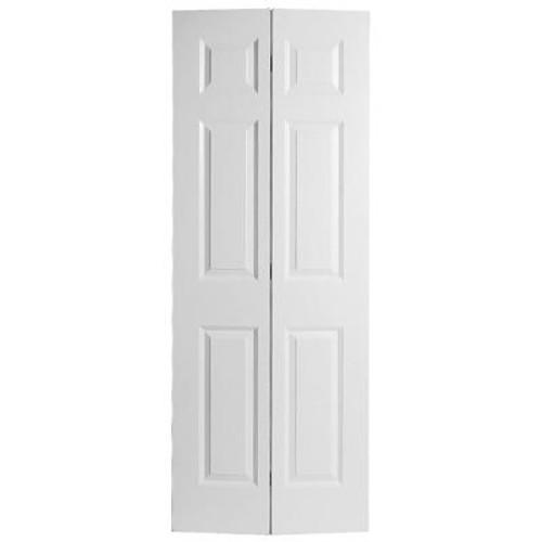 24x80x 1 3/8 6 Panel Bifold Door