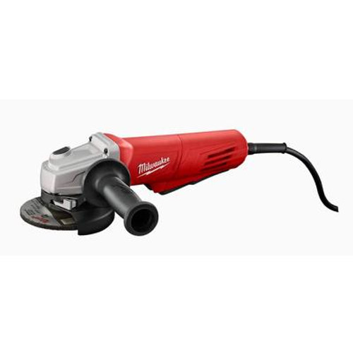 11 Amp 4-1/2'' Small Angle Grinder Paddle; Lock-On