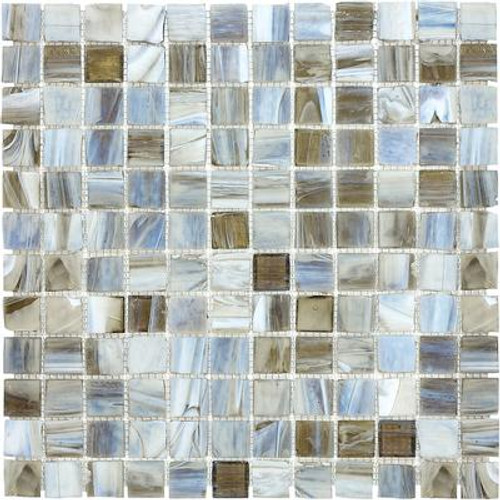 1 Inchx1 Inch Tranquility Stained Glass Mosaics