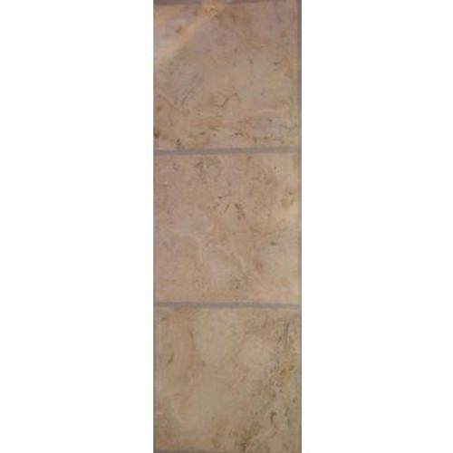 TrafficMaster Allure; Corfu Resilient Vinyl Tile - Flooring Sample 4 Inch x 8 Inch