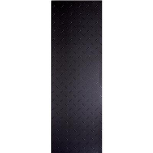 Commercial Diamond Plate Charcoal - Flooring Sample 4 Inch x 8 Inch