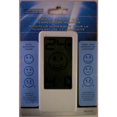 Digital Humidity and Temperature Monitor