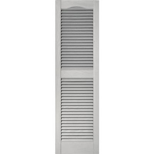15X60 Paintable Louvered Shutters