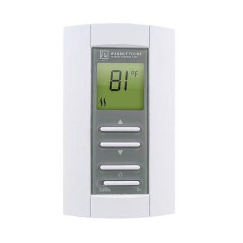 Dual Voltage Non Programmable Thermostat with floor sensor