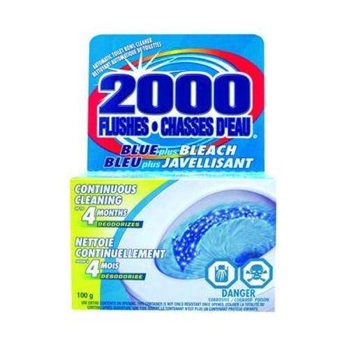 100g - 2000 Flushes Blue + Bleach