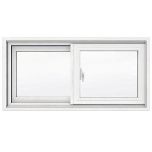 1700 SERIES Vinyl Clad Slider 31 5/8 inch x15 1/8 inch; 4 9/16 inch frame