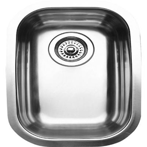 1/2 Bowl Undermount Stainless Steel Kitchen Sink