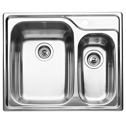 1 1/2 Bowl Topmount Stainless Steel Kitchen Sink