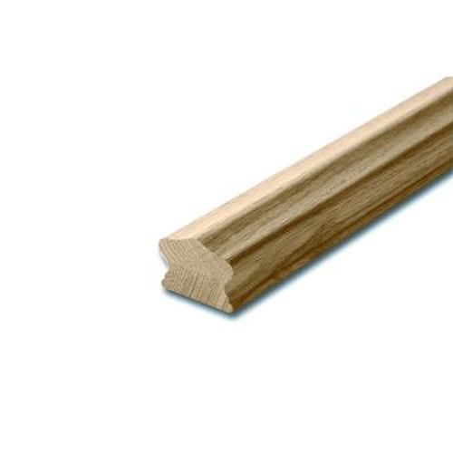 Oak Full Handrail 1-5/8 x 2-1/4 x 12 Feet