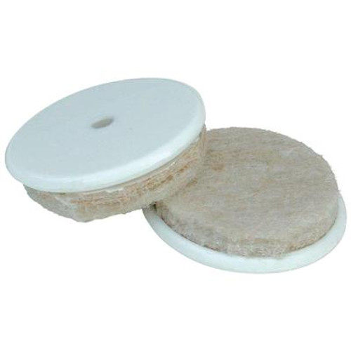 1 Inch  Felt Gard w/ disc & screw