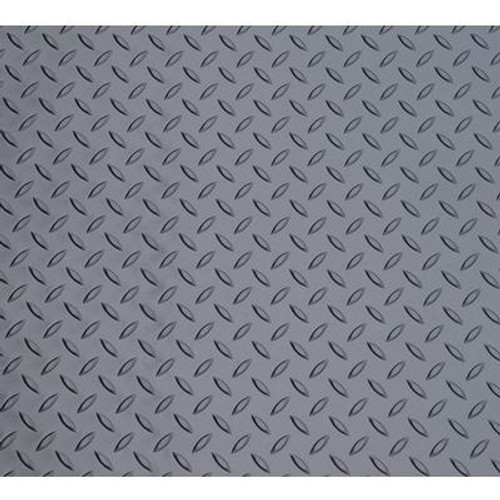 7.5 Feet x 14 Feet Metallic Graphite Small Car Mat