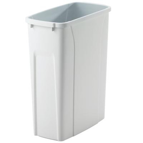 20 Quart White Waste and Recycle Bin
