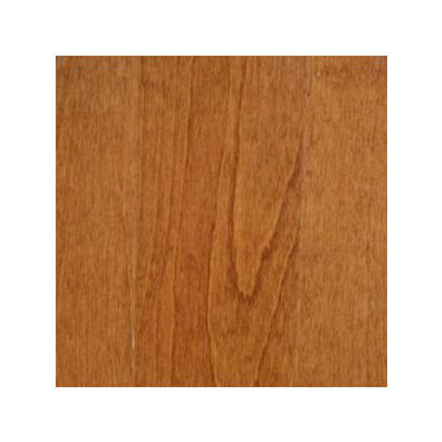 Dark Gunstock Birch 3/8  Inches  Thick x 4-(1/4  Inches  Width x Random Length Engineered Click Hardwood Flooring (20 Sq. Ft. /Case)